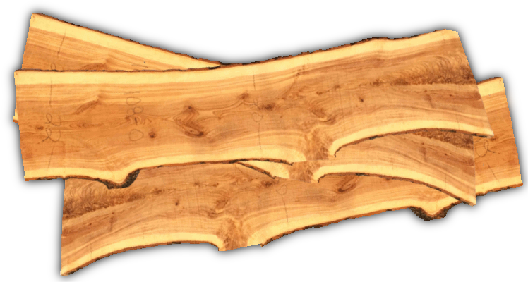 slab de bois -wooden slabs